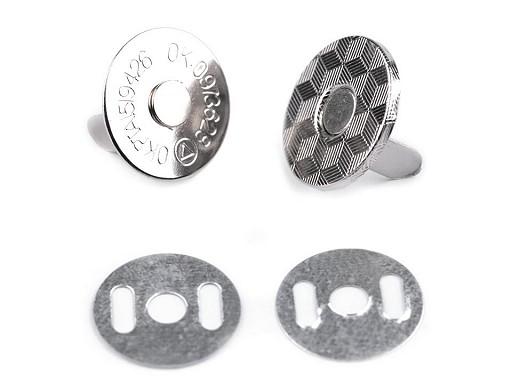 Magnetické zapínanie tenké Ø18 mm