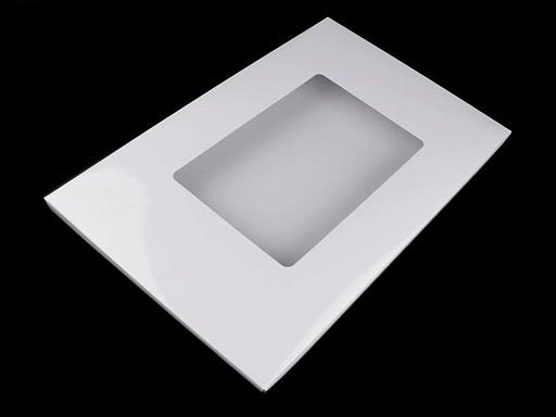 Pudełko papierowe z okienkiem