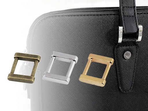 Průvlek na oděvy a tašky šíře 15 mm