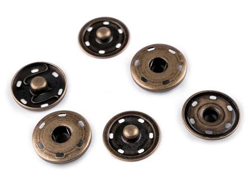 Kovové patentky / druky Ø30 mm velké