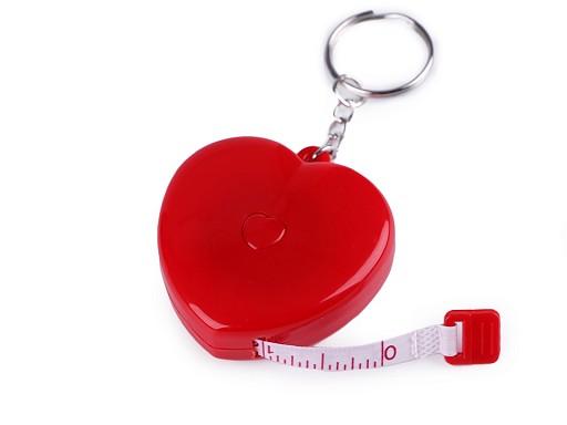 Svinovací metr srdce délka 150 cm