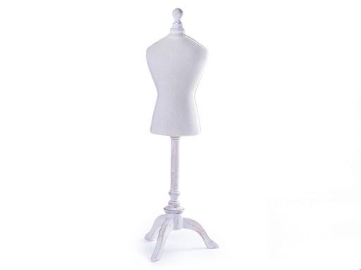 Dekorační krejčovská panna velká 67 cm