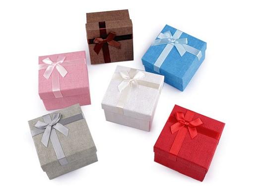 Geschenkschachtel für Armbanduhr / Armbänder 9x9 cm