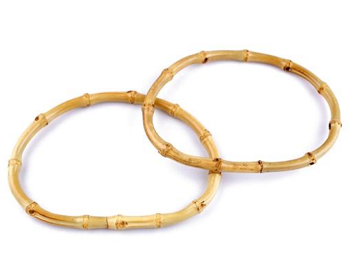 Bambusové rúčky na tašky 12,5x17,5 cm hrubé