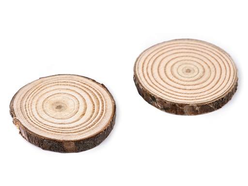 Krążek / plaster drewniany naturalny