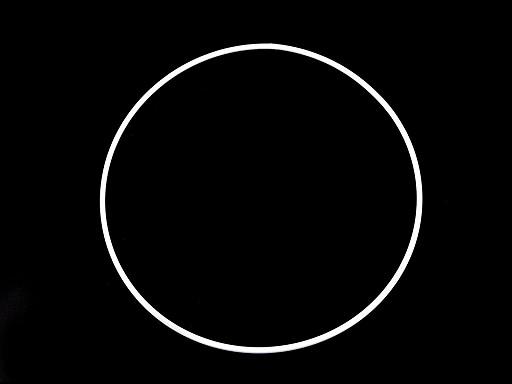 Kółko / obręcz metalowa / baza łapacz snów Ø20 cm
