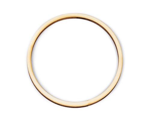 Dřevěný kruh na lapač snů / k dekorování Ø13 cm