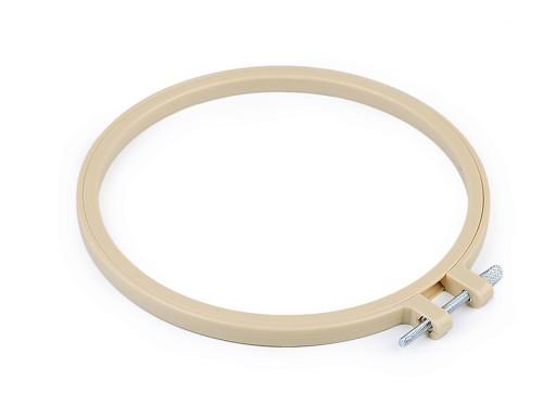 Vyšívací kruh plastový Ø16 cm
