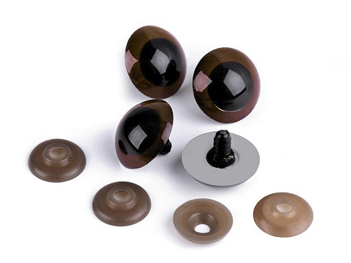 Bezpečnostné oči veľké Ø26 mm