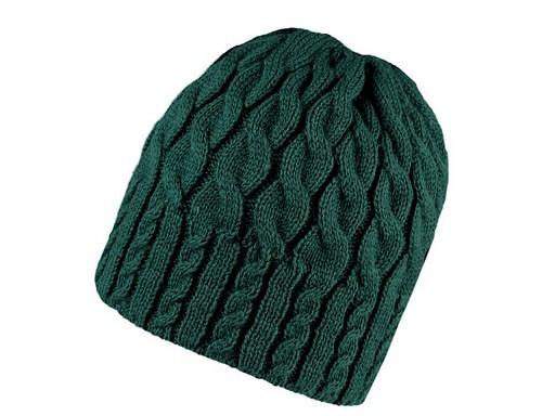 Dámská zimní čepice pletená