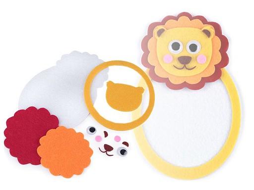 Kreatívna sada lev, hroch, panda a koala