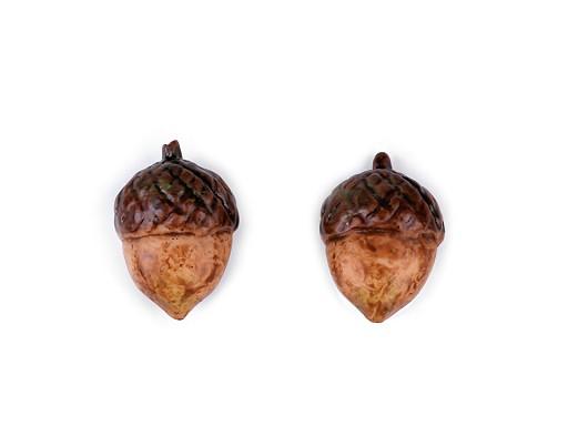Samolepicí dekorace muchomůrky, žaludy