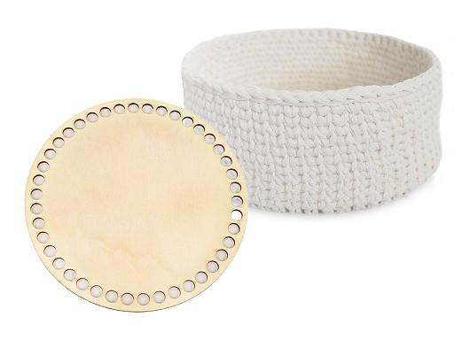 Dno na pletení / výrobu košíků Ø15 cm