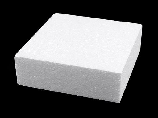 Négyzet alap / alátét 20x20 cm polysztirén