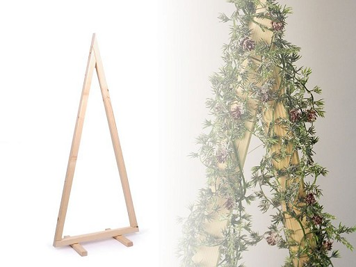 Dřevěný stromek k dozdobení 120 cm