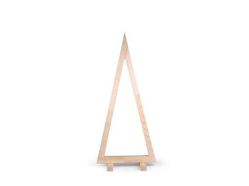 Dřevěný stromek k dozdobení 80 cm