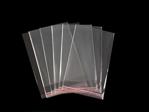 Celofánové sáčky s lepiacou lištou 6x8 cm