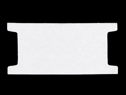 Papierová karta 6,5x14 cm s výrezom