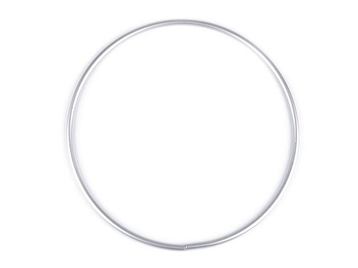 Kovový kruh na lapač snů / k dekorování Ø20 cm