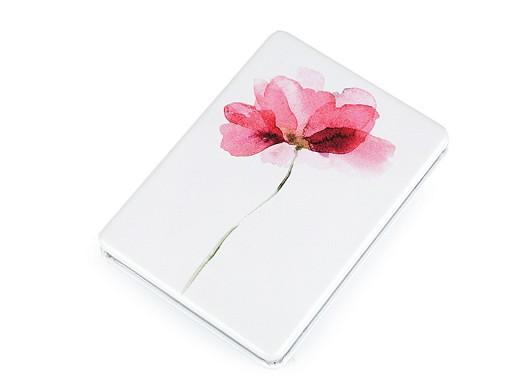 Lusterko do torebki kwiatek