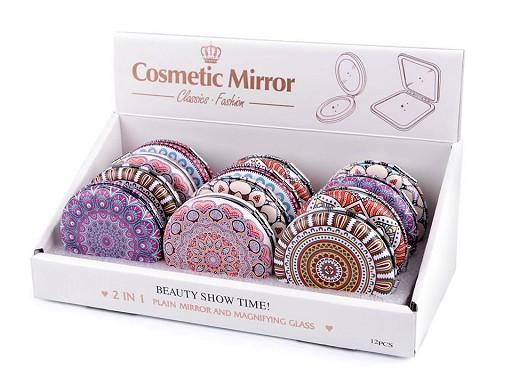 Kosmetické zrcátko mandala