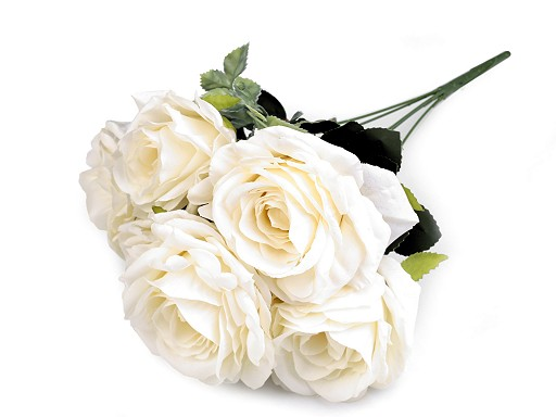 Sztuczny bukiet róż