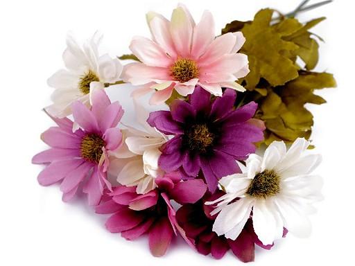Umelá chryzantéma na aranžovanie