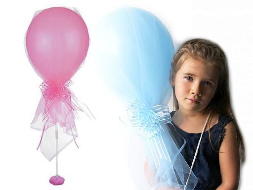 Párty sada - nafukovací balónky s tylem