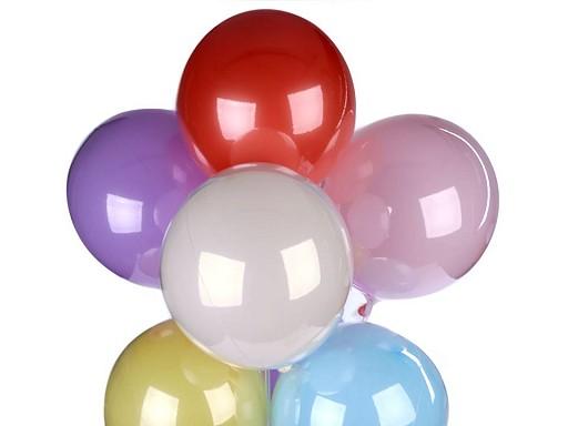 Sada nafukovacích lesklých balónků 2v1