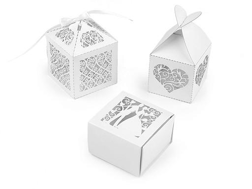 Papírová krabička svatební