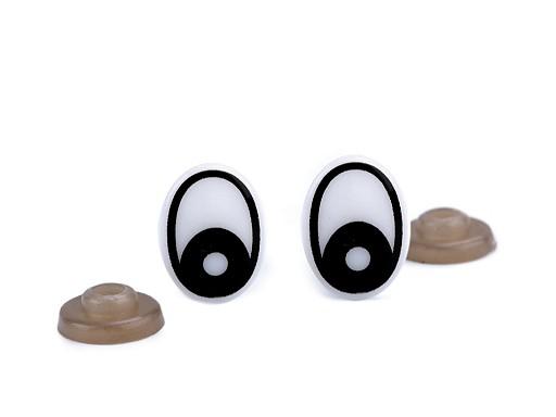 Bezpečnostní oči 12x16 mm