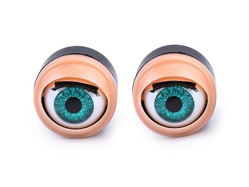 Oczy mrugające do zabawek Ø17 mm
