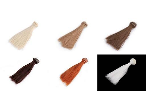 Peruka / włosy dla lalek 15 cm