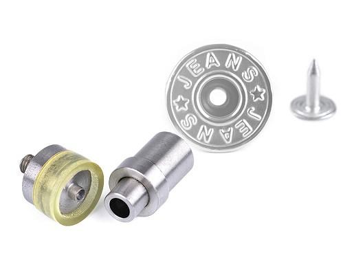 Piston k nýtování riflových knoflíků s otvorem Ø19 mm