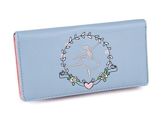 Dámská peněženka baletka 10x19,5 cm
