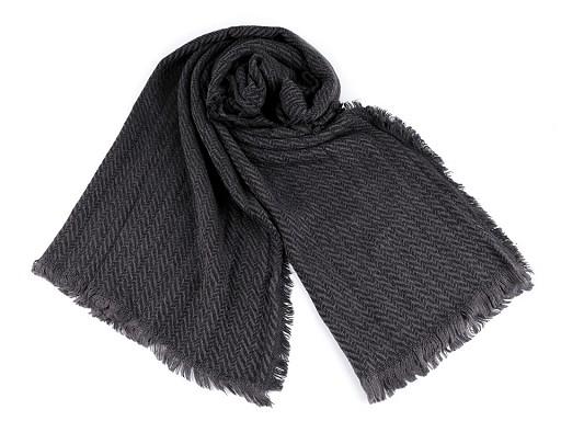 Pletená zimní šála 60x200 cm