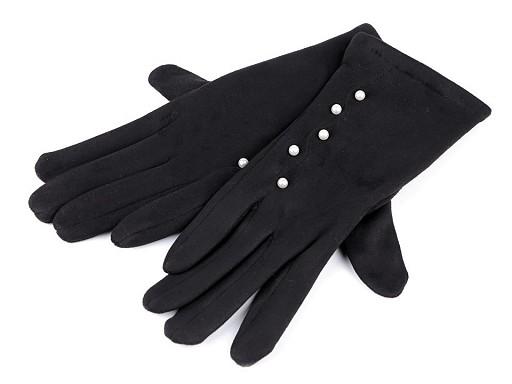 Dámské rukavice s perlami