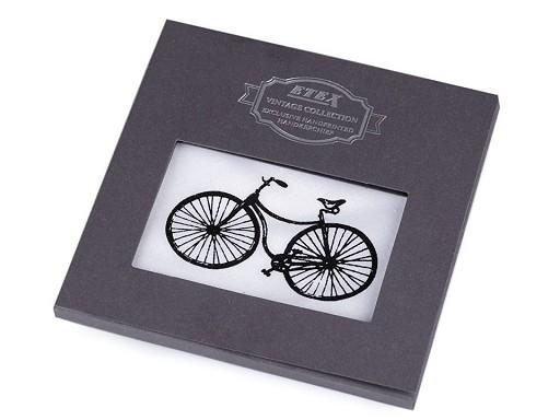 Chusteczki męskie opakowanie podarunkowe - auto, motor, rower