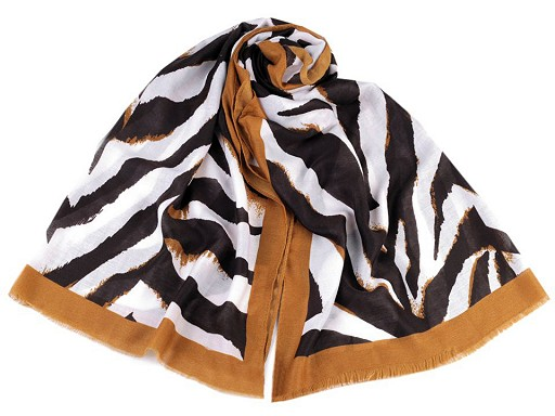 Šatka / šál zebra 80x180 cm