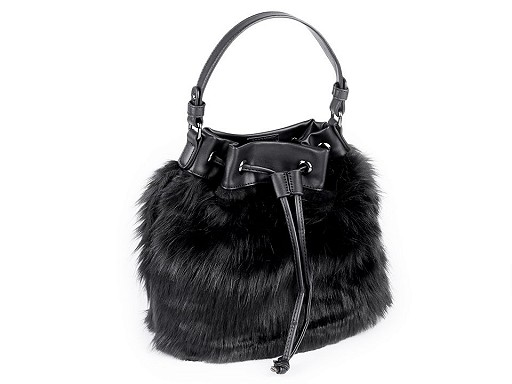 Kožešinová kabelka 30x35 cm