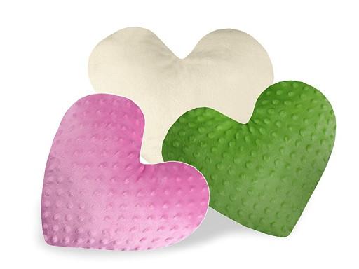 Poduszka dekoracyjna z wypełnieniem - serce