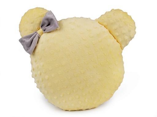 Dekorační polštář minky s výplní - myška