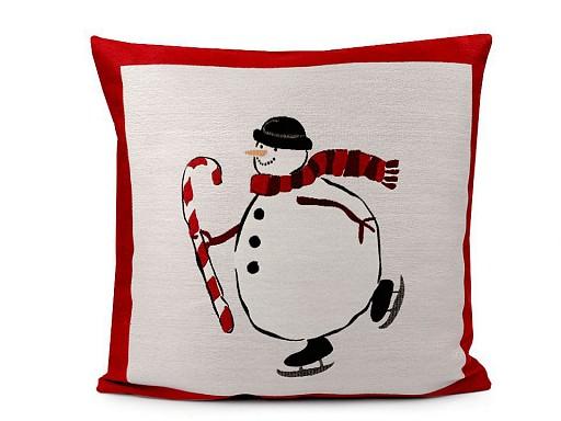 Vianočná obliečka na vankúš 45x45 cm