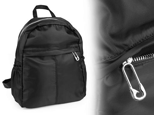 Plecak z kieszeniami jednokolorowy