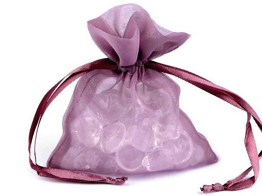 Darčekové vrecúško 10x12,5 cm organza shine