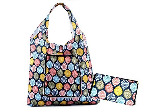 Skladacia nákupná taška pevná 35x41 cm