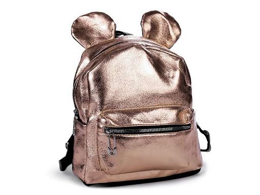 Dívčí batoh s metalickým leskem