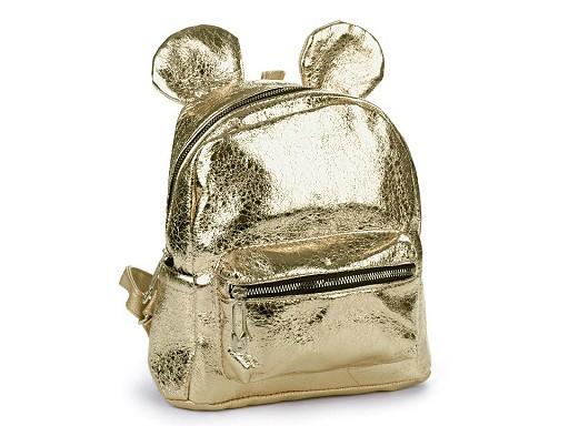 Dievčenský batoh s metalickým leskom