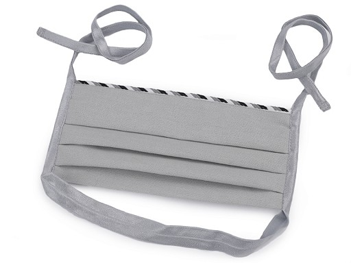 Dizajnové skladané rúško s trikolórou