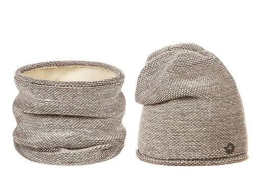 Dámská zimní sada čepice a nákrčník